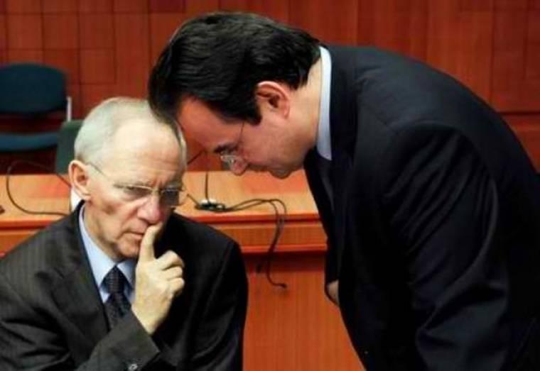 Οι όροι Σόιμπλε για την ήπια αναδιάρθρωση του χρέους της Ελλάδας