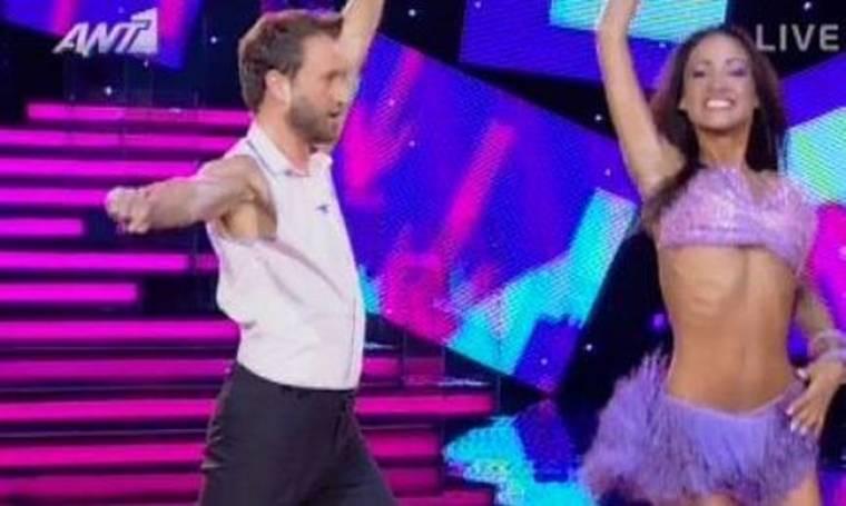 Video: Και το Dancing είχε «9» για τον Αργύρη Αγγέλου