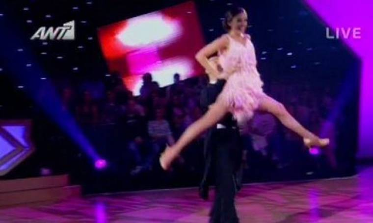 Video: To χορευτικό της Νίκη Πόντε στο Dancing with the stars