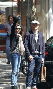 Daniel Craig και Rachel Weisz στο Παρίσι