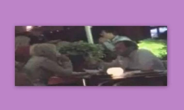 Video: Το τρυφερο tet a tet του Φουστάνου με την σύντροφό του