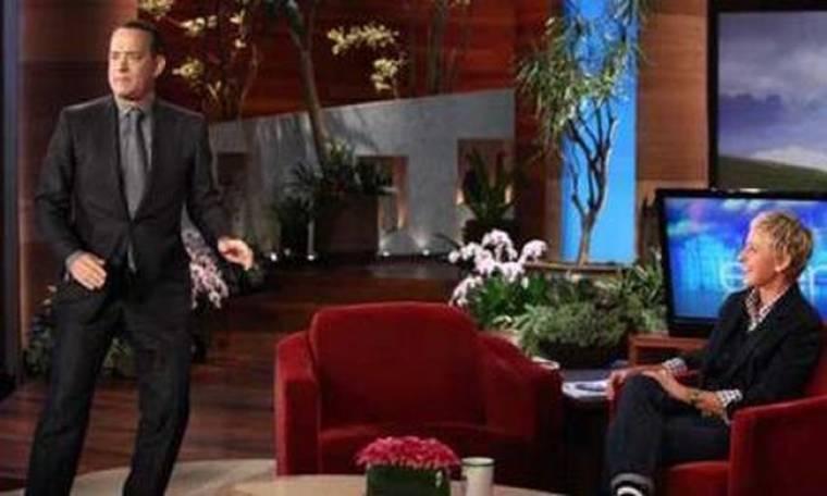 Video: Ο Tom Hanks χορεύει στην Ellen