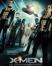X-Men: First Class: Πόστερ σε τρεις γλώσσες