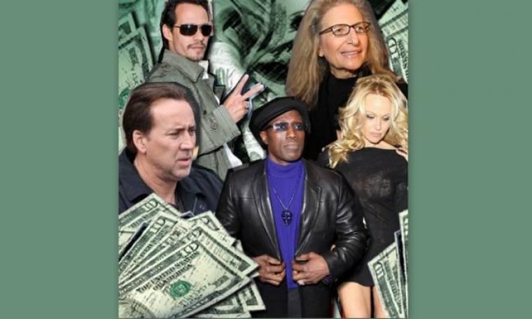 Σε χαλεπούς καιρούς και οι celebrities φοροδιαφεύγουν