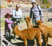 Με τη Ρένια Λουιζίδου στο Περού