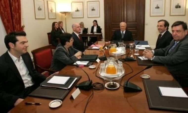 Σύσκεψη πολιτικών αρχηγών με πρωτοβουλία Παπούλια