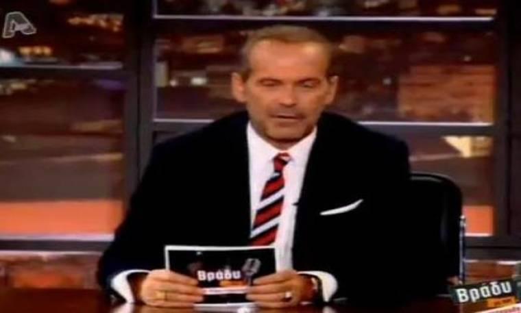 Video: Γιατί εκνευρίστηκε στο κλείσιμο της εκπομπής του ο Κωστόπουλος;
