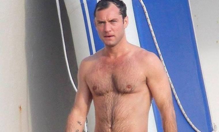 Jude Law: Μετά τη δουλειά, διακοπές