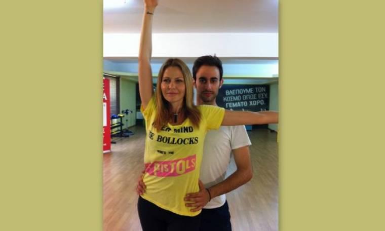 Η Τζένη Μπαλατσινού στο «Dancing»