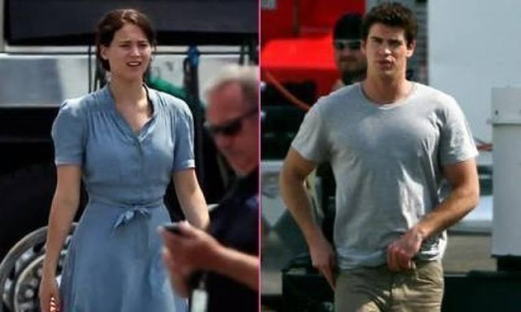 Η πρώτη εικόνα από τα πλατό του Hunger Games