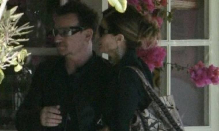 Maria Shriver: Σε γεύμα με τον Bono