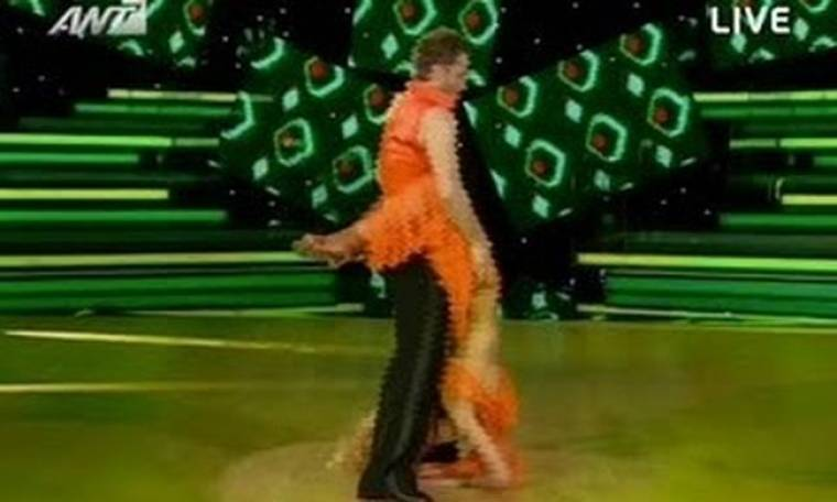 Dancing: Η εκρηκτική Αγγελική Ηλιάδη!
