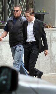 Με νέο λουκ στο Cosmopolis o Robert Pattinson