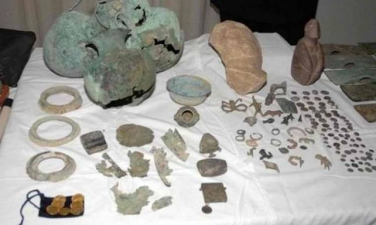 Αρχαιοκαπηλία στο Ναύπλιο