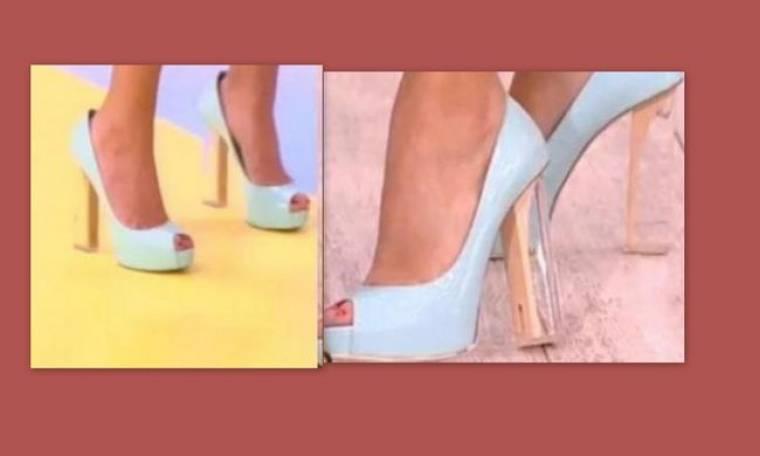 Ποιες παρουσιάστριες φόρεσαν τα ίδια παπούτσια;
