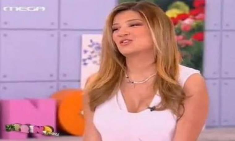 Video: «Πνίγηκε» on air η Φαίη Σκορδά!