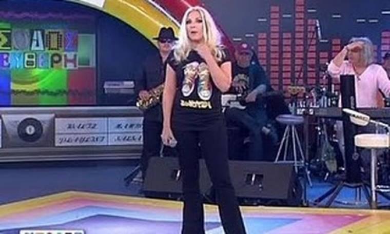 Video: Η Αννίτα Πάνια επέστρεψε με καρφιά