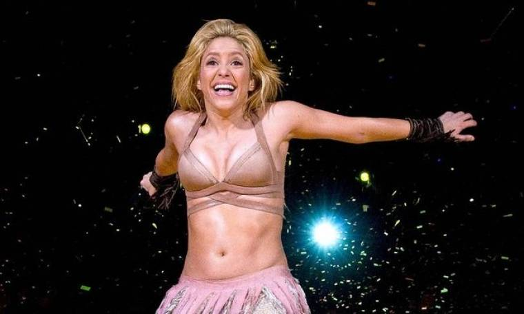 Video: Backstage στη συναυλία της Shakira