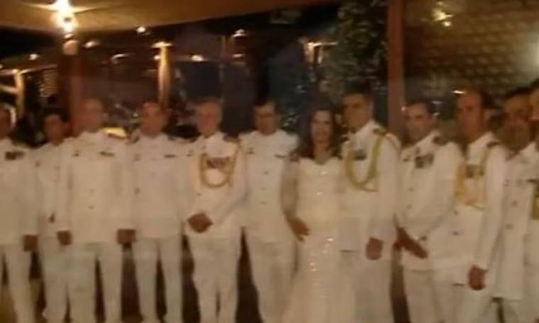 Video: Η χλιδάτη γαμήλια δεξίωση της Δέσποινας Μοιραράκη