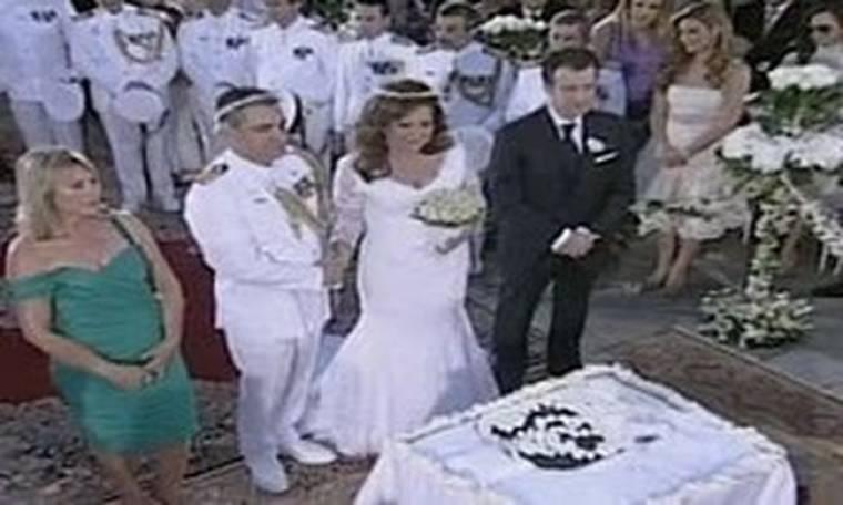 Τα ευτράπελα στον γάμο της Δέσποινας Μοιραράκη