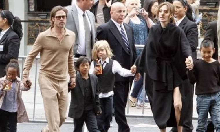 Σχολείο τέλος για τα παιδιά της Angelina Jolie και του Brad Pitt