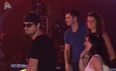 Βίντεο: Στις πρόβες του Greek Idol με τον Νίνο και τη Νικόλ
