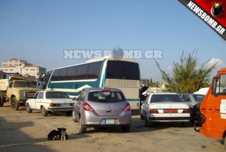 Το ελληνικό λεωφορείο που βρέθηκε στα χέρια της Χεσμπολάχ!