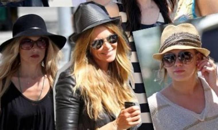 Οι celebrities μας βάζουν το καπέλο