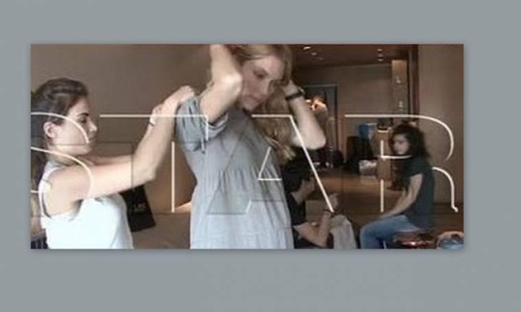 Video: Η Βίκυ Καγιά... είναι έγκυος
