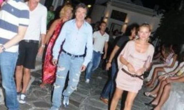Ηλίας Ζάρμπαλης-Γκρέτα Τσέτη: μόλις χώρισαν