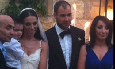 Video: Όλα όσα έγιναν στον γάμο Σπανούλη-Χοψωνίδου