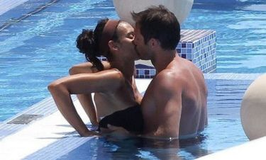 Φράνκ Λάμπαρντ: Καυτά φιλιά στην πισίνα