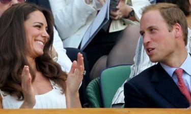 Με... ιδρωμένο τενίστα ο William και η Catherine