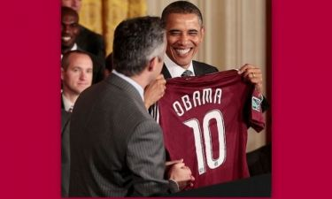 Μπαράκ Ομπάμα: «Είμαι εγώ και ο Μέσι!»
