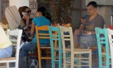 Σαρούνας Γιασικεβίτσιους: Διακοπές στην Πάρο