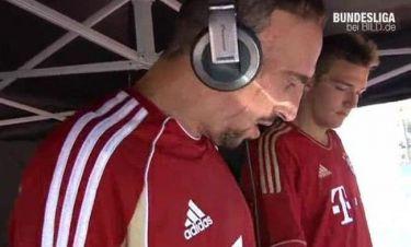 Video: Ο Franck Ribery επιχειρεί να γίνει… DJ