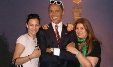 Βατίδου-Αποστολοπούλου: Αγκαλιά με τον Ομπάμα