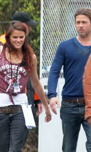 Brad Pitt: Συνεχίζει τα γυρίσματα στη Βρετανία