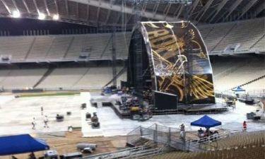 Αυτό είναι το stage των Bon Jovi