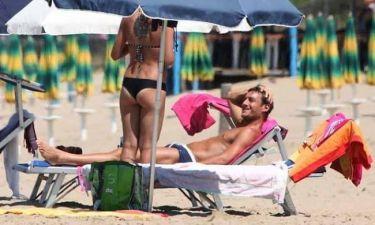 Ο μπαμπάς Totti και το… «φλερτ» στην παραλία