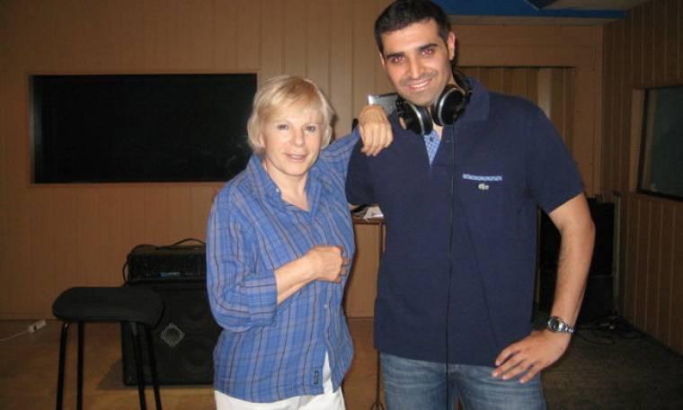 Ελένη Ροδά και Βαγγέλης Δημητριάδης μαζί στο studio