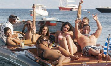 Οι DSquared2 και φέτος διακοπές στο αγαπημένο τους νησί των Ανέμων