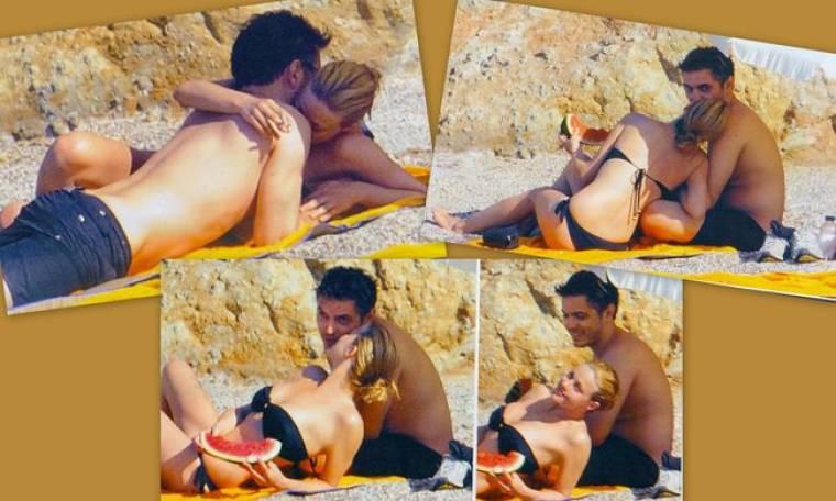 Μιχάλης-Ζέτα: Καυτά φιλιά και αγκαλιές σε παραλία της Πάρου