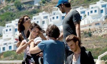 Penelope και Javier: Βόλτα με τον Leo, την Eva και τον Eduardo