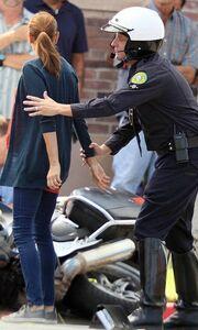 Η σύλληψη της Teri Hatcher