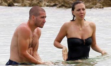 Jake και Maggie στην παραλία!