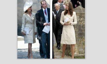 Kate Middleton: Πήγε στο βασιλικό γάμο φορώντας τα ίδια ρούχα