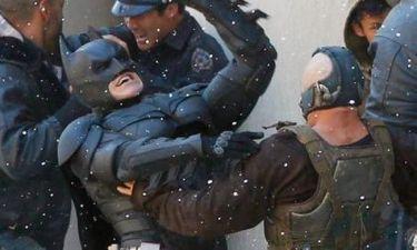 Christian Bale και Thomas Hardy παλεύουν στα πλατό του Dark Knight Rises