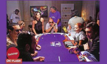 Στα γυρίσματα της ταινίας «Poker Face»