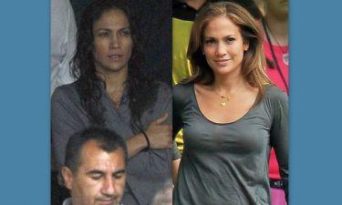 Η JLo πριν και μετά το μακιγιάζ